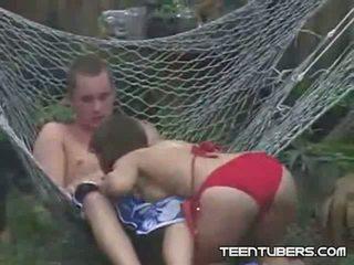 Voyeur Catches Teen Neighbor Sex