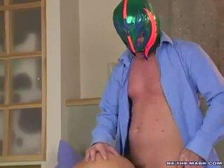 Avalon getting banged em dela twat à canzana por um homem com um máscara