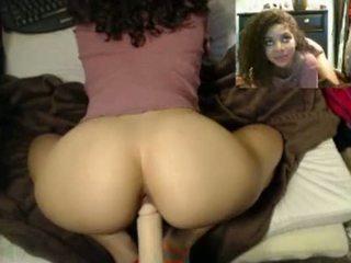 chung quanh, webcam, tia, ass