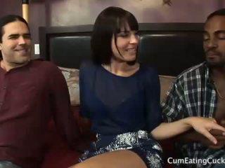 Dana ir jos cuck vyras dalintis a juodas varpa