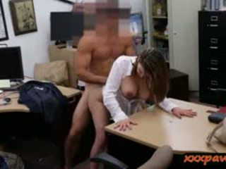 Big Boobs MILF Pounded In The Pwanshop To Earn Extra Cash