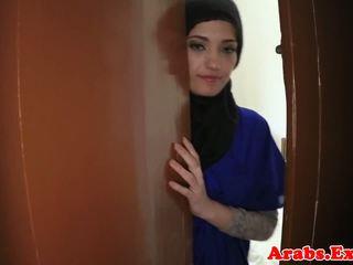 Arabské amatérske beauty pounded pre hotovosť, porno 79