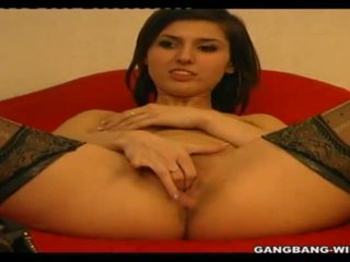 Gangbang casting with 20 year old amateur