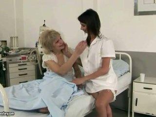 Graziosa infermiera loves nonnina