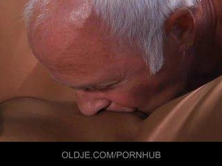 Angel Rivas is sucking 2 old cock