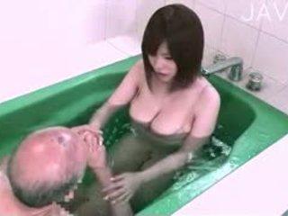 japānas, big boobs, titjob