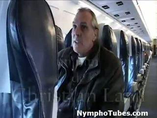 Blonda stewardesses lovitură guys - nymphotubes.com