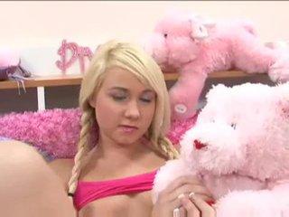 Gira loira jovem grávida alexa skye gets ele em com um hooters dude vídeo