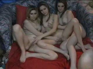 Webcam Amateur Foursome
