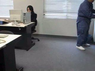 Molested κοιμώμενος/η γραφείο κυρία