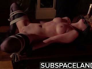 Bdsm - tinedyer tied up at fucked sa magaspang sexual pleasure