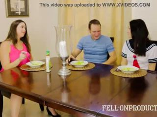 [taboo passions] sister fucks brother while ina watches addie juniper & madisin