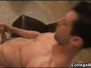 Nick Torretto Masturbating His Fine Campus