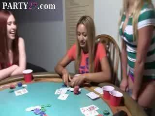 Vauva babes helvetin päällä pokeri yö