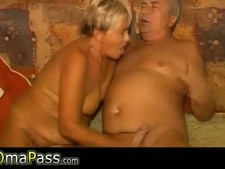 OmaPass old lady masturbating her pussy with toy a