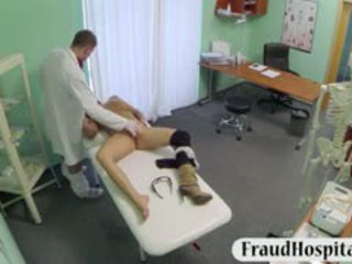 Big Tits Patient Examined And Pounded With Fraud Doctor