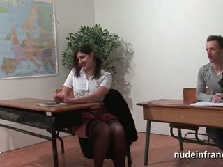 色情, 他妈的, 学生