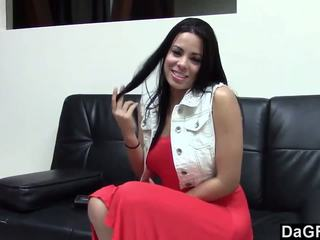 Hot Latina Fucking Her Casting Agent