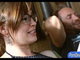 Slutty redhead babeh jodi taylor pounded by pervert guy