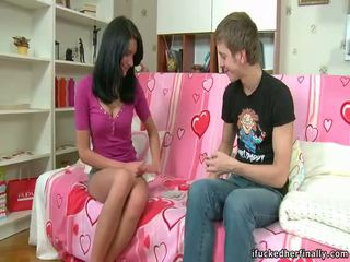 шибан, drilling teen pussy, oral sex