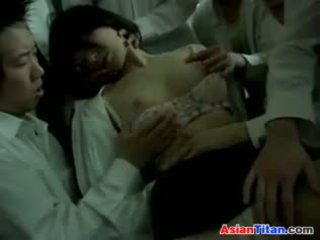 Дрогиран нагоре азиатки учител used от students
