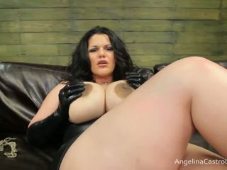 Groß titted angelina castro cocks domination!