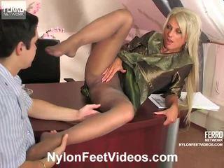 Cornelia ja adam mindblowing sukkahousut jalkaa toiminta