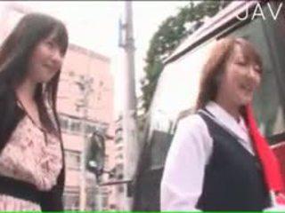 japonais, sexe de groupe, public