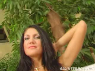 Female Ejaculation Anal creampie is Sarahs specialty