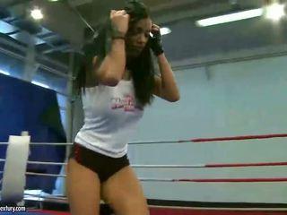 lesbian, wrestling
