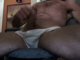 Daddy jerking off in front of the web cam