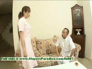 Myuu hasegawa innocent יפה סיני נערה gets teased
