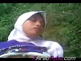 Recorded جنس tape مع أقرن hijab