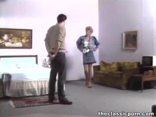 하드 코어 섹스, 그녀의 음부는 혔어, 포르노 배우