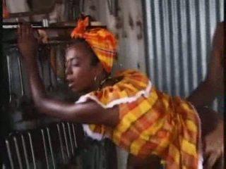 anální sex, africký, anální