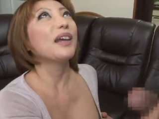 น่ารัก และ รสจัด คนจีน reiko kagami giving a มีอารมณ์ เลีย