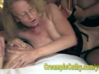 Alanna a cathy jesť a creampie