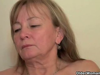 Mom seduces her toy boy with her sweet...