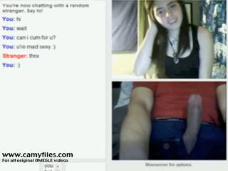 Cute Omegle Girl Flashes