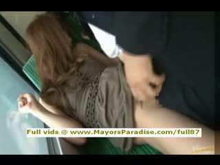 Rio Smart Asian Chick Is Fucked On The Bus