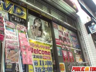 japonez, sex în public, muie