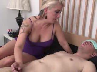 Step-mom helps sick step-son