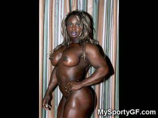 Quente musculosa negra gfs!
