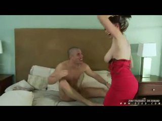 Breasty gyzykly jana gianna michaels whacking her throat çuň with a thick sik