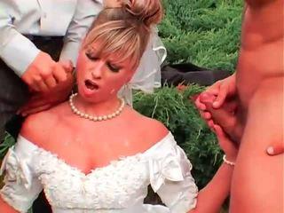 pissing, ühtne, brides