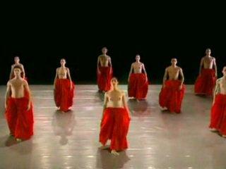นู้ด การเต้น ballett กลุ่ม