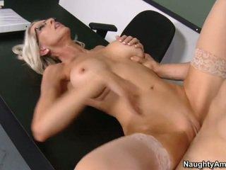 hardcore sex, porn star, office sex