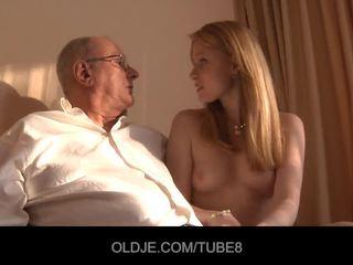 vöröshajú, 69, cumshot