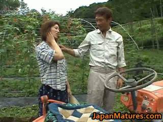 japonais, seins énormes, mature