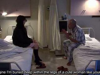 Subtitled uncensored bizarní nemocnice japonská honění
